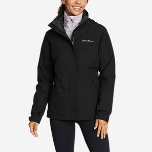 Eddie Bauer Black Weatheredge Jacket Small